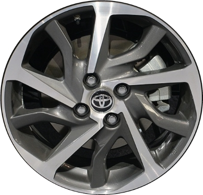 toyota yaris wheels rims wheel rim stock oem replacement. Black Bedroom Furniture Sets. Home Design Ideas