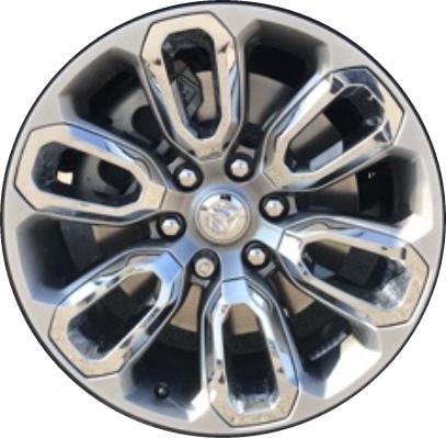 Dodge Ram Rims >> Aly2677 Dodge Ram 1500 Wheel Grey Painted 5yd58trmaa