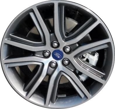 Alyedge Ford Edge Wheel Charcoal Machined