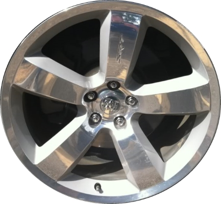 ALY40U40LS40 Dodge Challenger Charger Rim Silver Polished 40AA Delectable Dodge Charger Lug Pattern