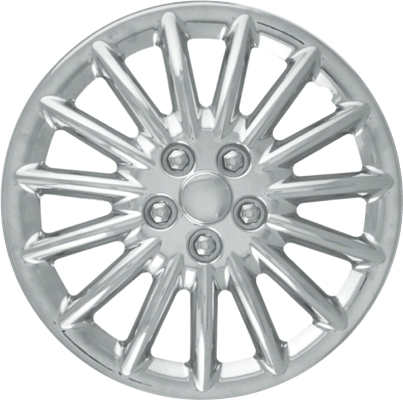 hubcaps wheel covers for 15 inch rims White 2008 Chevy Cobalt 188c 15 inch aftermarket chrome hubcaps wheel covers set