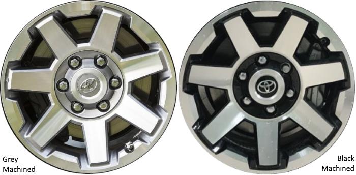 toyota 4runner wheels rims wheel rim stock oem replacement rh hubcaphaven com Toyota Camry Wheels Used Toyota Wheels
