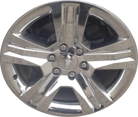 Used Aly5755 Chevrolet Silverado 1500 Wheel Chrome 23220754