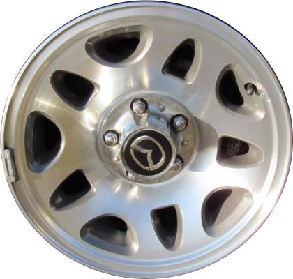 Tire Pressure Monitor >> Mazda B2300 Wheels Rims Wheel Rim Stock OEM Replacement