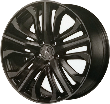 ALYU Acura TLX Wheel Black Painted WTZC - Black acura rims