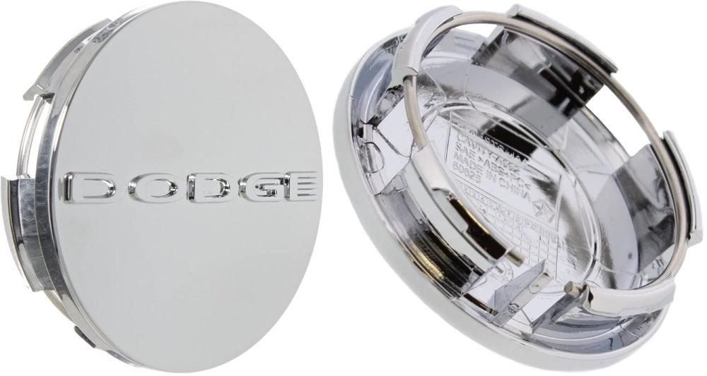 2011-2019 Dodge Logo Chrome Wheel Center Cap Mopar OEM