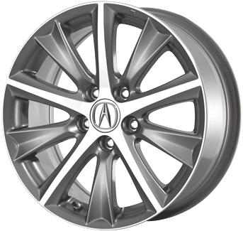 ALY Acura ILX Wheel Grey Machined WTX - Acura ilx rims