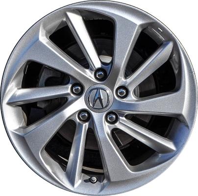 ALY Acura ILX Wheel Silver Painted TVA - Acura ilx rims