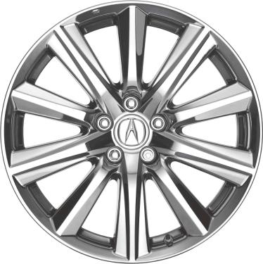 Acura MDX Wheels Rims Wheel Rim Stock OEM Replacement - Black rims for acura mdx