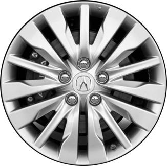 aly71799 acura rl wheel silver painted 42800sjaa00