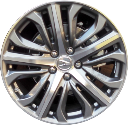 Lc65 Acura Tlx Wheel Grey Machined 08w19tz3200