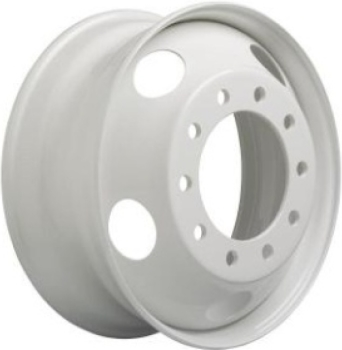 STL29195 GMC, Chevrolet C4500, C5500, C6500 Wheel Steel Silver