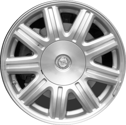 chrysler town and country wheels rims wheel rim stock oem replacement. Black Bedroom Furniture Sets. Home Design Ideas