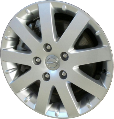Chrysler town and country lug pattern
