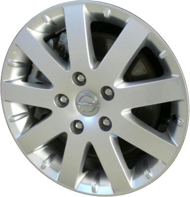 Chrysler Town And Country Wheels Rims Wheel Rim Stock OEM