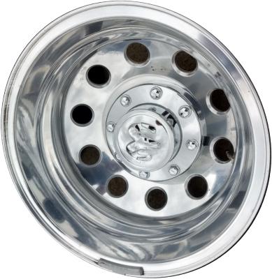ALY2415 Dodge Ram 3500 DRW Rear Rim Polished #68081777AA