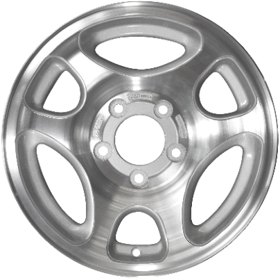 Aly3192 Ford F 150 Wheel Silver Machined F65z1007da