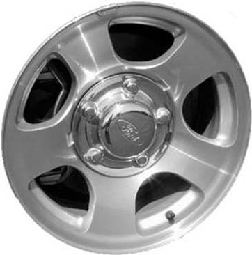 Aly Ford Expedition F  Wheel Silver Machined Ylzaa