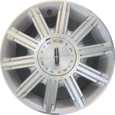 Aly3635 Lincoln Town Car Wheel Silver Machined 6w1z1007a