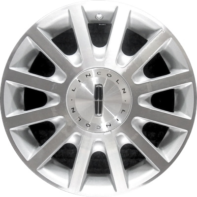 Aly3636 Lincoln Town Car Wheel Silver Machined 5w1z1007aa