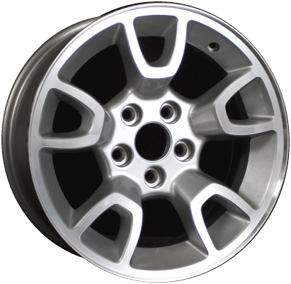 Ford Ranger Bolt Pattern >> Aly3667 Ford Ranger Wheel Silver Machined 7l5z1007p