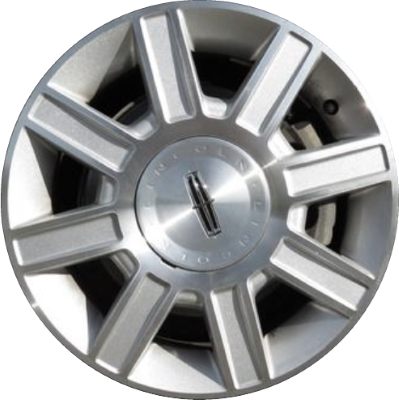 Aly3754 Lincoln Town Car Wheel Silver Machined 6w1z1007c