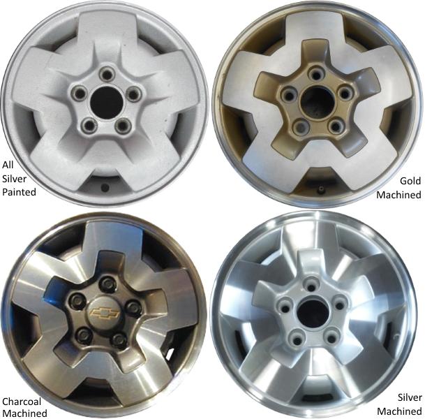 Aly5031 Blazer Jimmy S10 S15 Sonoma Wheel 9592533
