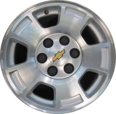 Chevy Chevrolet Silverado 1500 Wheels Rims Wheel Rim Stock ...