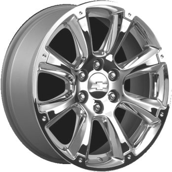 Chevrolet silverado 1500 wheels rims wheel rim stock oem replacement aly5410 chevrolet avalanche silverado suburban tahoe wheel chrome 17800916 publicscrutiny Gallery
