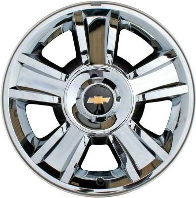 ALY40 Chevrolet Avalanche Silverado Suburban Tahoe Rim Chrome Extraordinary Chevy Tahoe Bolt Pattern