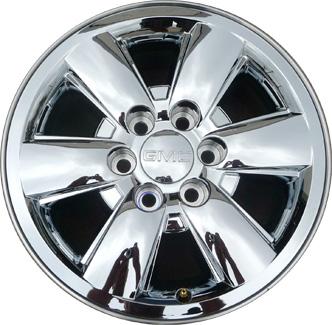 20 Gmc Wheels >> Used Aly5418 Gmc Sierra 1500 Yukon Wheel Chrome Clad 9597226