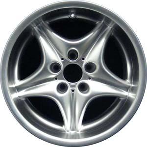 Aly59263u78 Hypv2 Bmw Z3 Wheel Smoked Hyper Silver