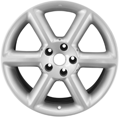 ALY40 Nissan 40Z Front Wheel Silver Painted 40CD40 Fascinating 350z Lug Pattern