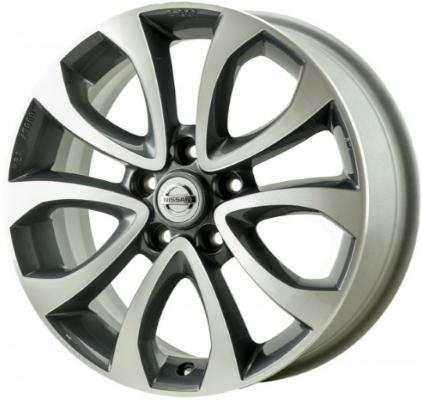aly62563u30.lc33 nissan juke wheel charcoal machined #ke4091k200us