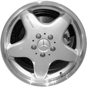 Mercedes clk430 wheels rims wheel rim stock oem replacement for Mercedes benz replacement wheels