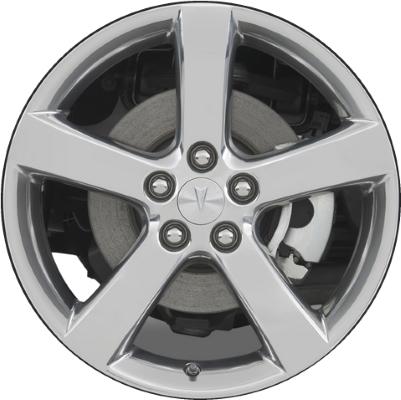 Aly6601u95 Pontiac Solstice Wheel Chrome 9597298
