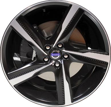Aly70394 Volvo S60 V60 Wheel Black Machined 314140179