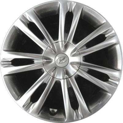 Would Oem 18 Quot Hyundai Genesis Sedan Rims Tire Size 235 50