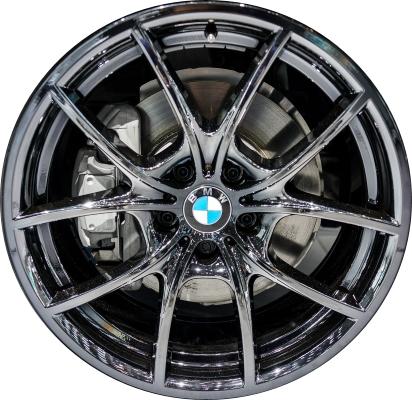 Aly71428u97 71525 Bmw Hybrid 5 528i 535i 550i 640i 650i Rim Black 36116853817