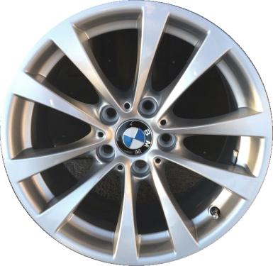 Aly71536 Bmw 320i 328i 330e 330i 335i 340i 428i 435i Wheel Silver 36116796244