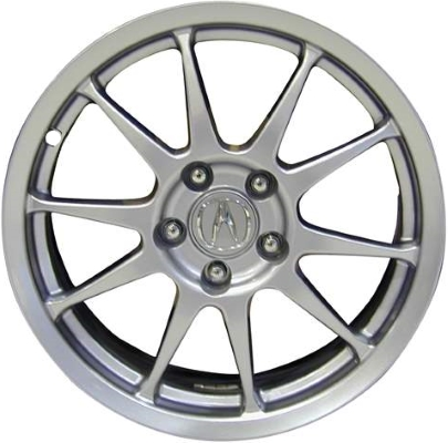 ALY Acura RSX Wheel Silver Painted WSM - Acura rsx rims