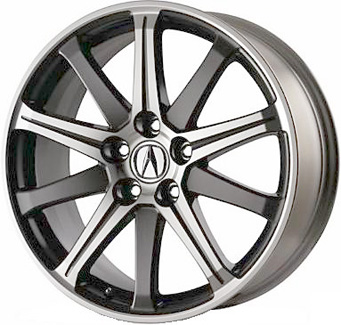 Acura Tl Wheels >> Aly71787 Acura Tl Wheel Charcoal Machined 08w19tk4201b