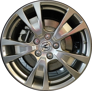 ALYHYPV Acura TL Wheel Hyper Silver TKA - Acura oem wheels