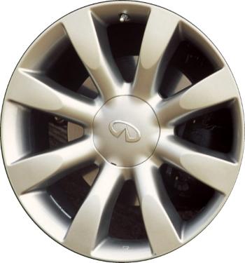 2004 infiniti fx35 tire size