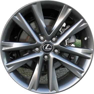 ALY74279U79 Lexus RX350, RX450H Wheel Dark Hyper Silver ...