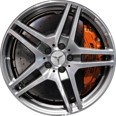 Mercedes sls wheels rims wheel rim stock oem replacement for Mercedes benz replacement wheels