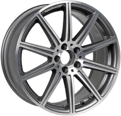 ALY85236U30HH MercedesBenz CLS550 CLS63 E63 Wheel Grey Machined