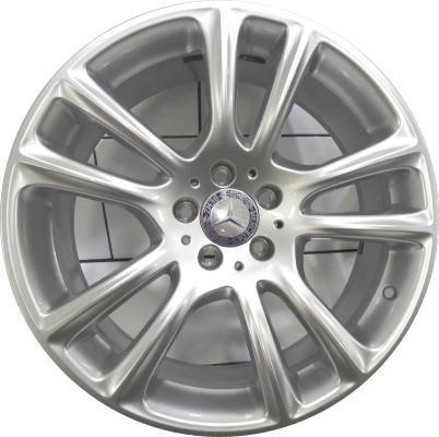 Mercedes sl550 wheels rims wheel rim stock oem replacement for Mercedes benz replacement wheels