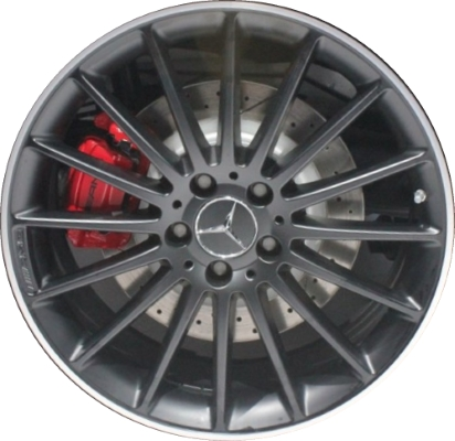 Mercedes b250 wheels rims wheel rim stock oem replacement for Mercedes benz replacement wheels