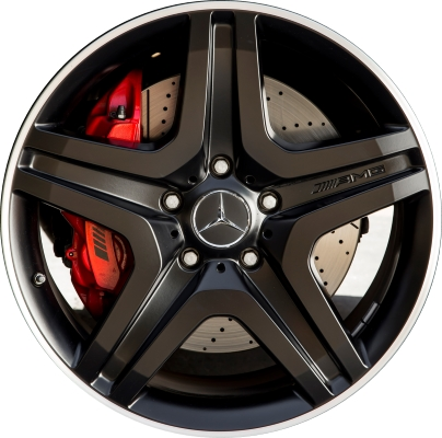 Mercedes g63 wheels rims wheel rim stock oem replacement for Mercedes benz tire replacement